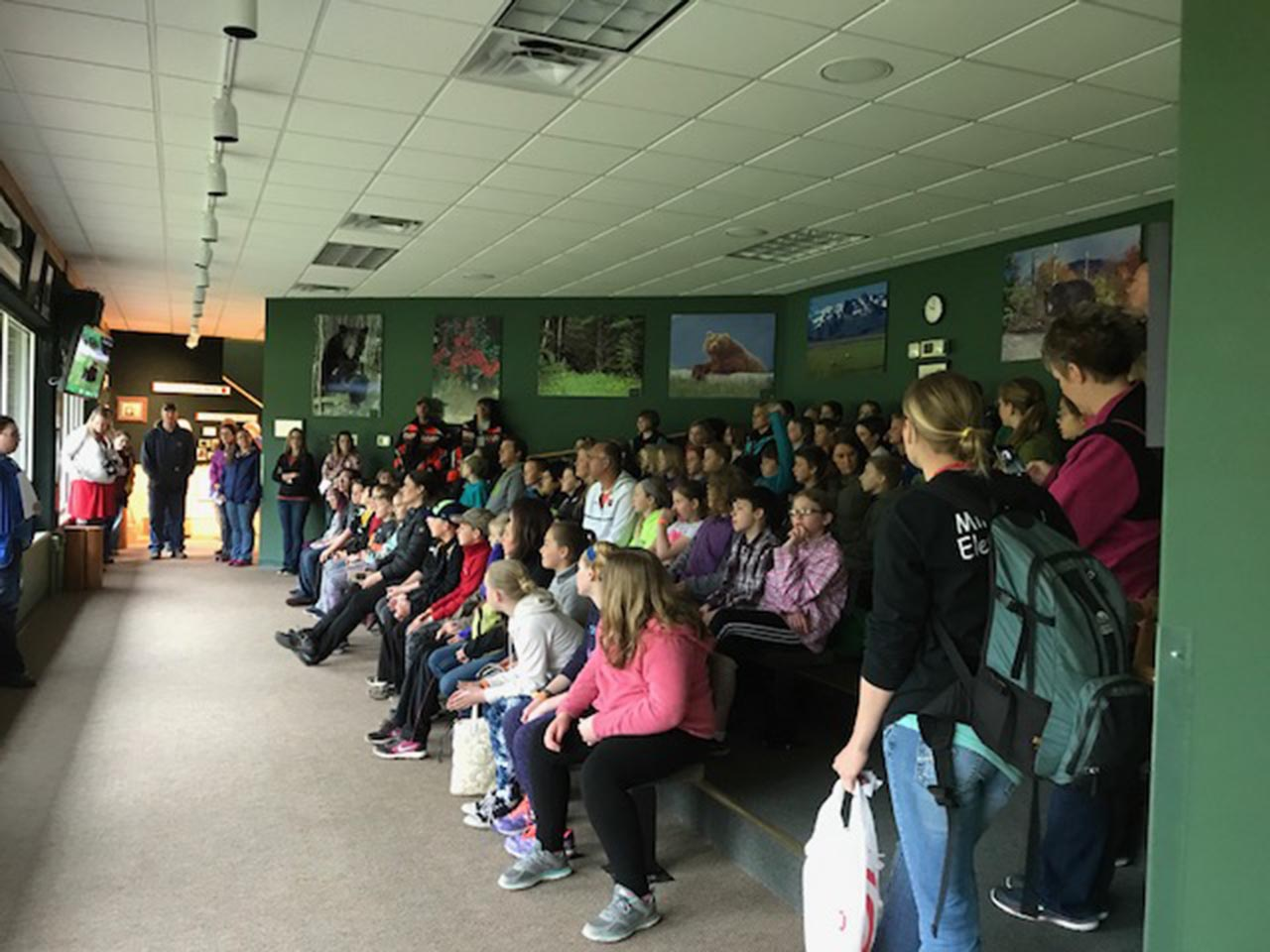 3rd graders from Twin Harbors visit NABC